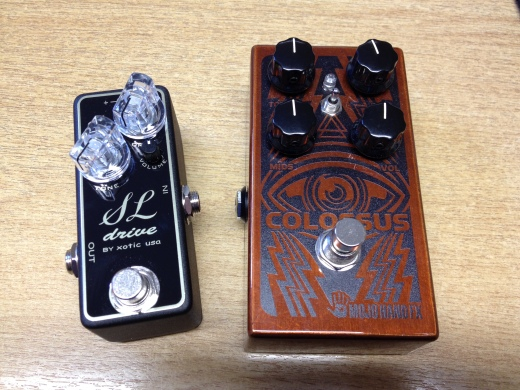 New pedals