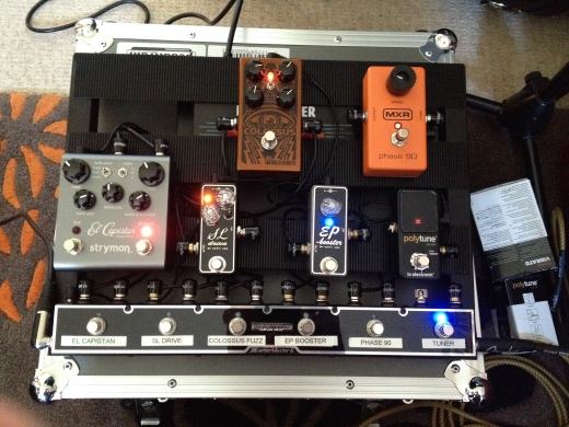 Pedal board 0ct 9th