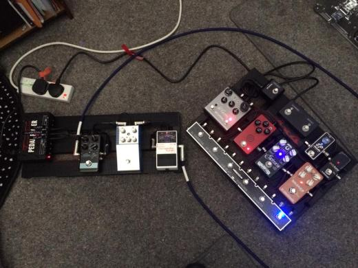 2 pedalboards